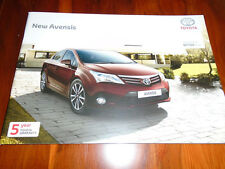 Toyota Avensis brochure May 2012