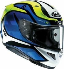 HJC RPHA 11 DEROKA BLUE MOTORCYCLE HELMET - SMALL