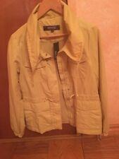 New Boys Kenneth Cole Reaction G-III Windbreaker Turtleneck Jacket Size M Yellow