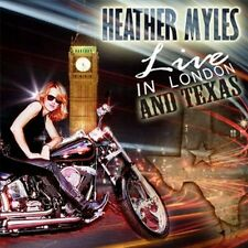 Live In London & Texas - Heather Myles (2010, CD NEU)2 DISC SET