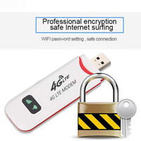 UK_ Unlocked 4G LTE WIFI Wireless USB Dongle Stick Mobile Broadband Modem SIM Ca