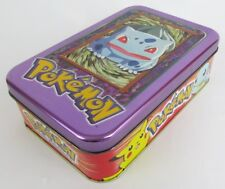 EMPTY 1999 TOPPS POKÉMON CARDS COLLECTORS TIN BOX TV ANIMATION EDITION