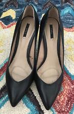 ZARA Womens Shoes Size 37 Black Heels