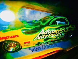 NHRA Cruz Pedregon 1:24 Diecast NITRO Funny Car FAST & FURIOUS Drag Racing RARE