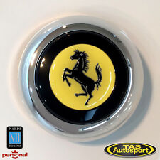 Nardi Horn Button Centre Kit for Anni and Classic Steering Wheels - Ferrari