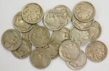 1913 Type 1 Buffalo Nickel Lot Full Dates & Rims No Scratches