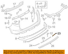 FORD OEM 15-18 Edge-Bumper Trim-Reflector Right FT4Z15A448A