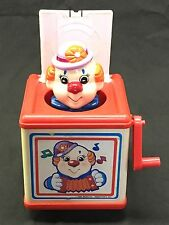 Vintage Classic 1988 Meritus Industries Inc Jack-in-the-Box / Pop-Up Clown