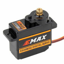 1PC EMAX ES08MD II 12g/2.4g/0.08g sec High Speed Metal GEAR Digital Servo