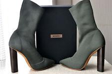Yeezy Season 2 Low Knit Boots MILITARY DARK GREEN EU 36.5 US 6.5 UK 3.5 NEW.