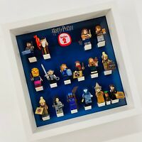 Display Frame for Lego Harry Potter Series 2 minifigures 71028 no figures 27cm