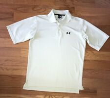 Under Armour Men's Tan Black Golf Polo Shirt Size Small