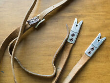 Original Rollei Rolleiflex TLR Leather Strap with Alligator Clips