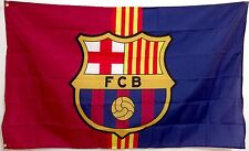 Barcelona Flag Banner 3x5 ft Spain FC Futbol Soccer Bandera Messi Sticker Gift