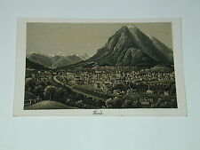 carte de visite n°88  Rudolf DIKENMANN peinture peintre à Zurich Suisse