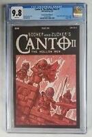 CANTO II The Hollow Men #1 - CGC 9.8 - IDW Comics 1:10 - TMNT Homage Cover 2020