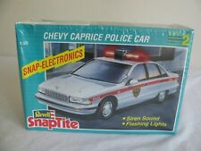 Revell Snap Tite 1/25 Scale Chevrolet Caprice Police Car w/ Lights & Sound #6293