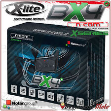 INTERFONO BX4 PLUS BLUETOOTH SINGOLO N-COM XSERIES CASCO X-LITE X-402GT X402GT