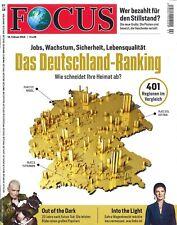 FOCUS Magazin - Heft 07/2018: Das Deutschland-Ranking  +++ wie neu +++