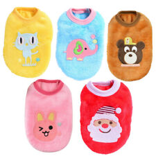 Puppy Sweater Coat Clothes Pet Dog Cat Warm Clothing for Teacup Yorkie Chihuahua