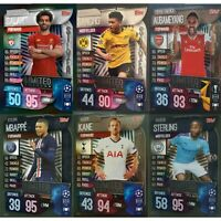 MATCH ATTAX 2019/20 19/20 LIMITED EDITIONS 6 SILVER LE ALL MINT