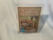 """Mary Engelbreit Music Box 5�x7� Picture Frame """"That's What Friends Are For� Song"""