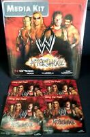 N-Gage WWE Aftershock-Rare Media Kit: Promo-factory sealed! W/ promo stickers!