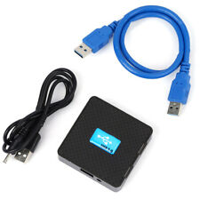 USB 3.0 Hub 4 Ports 5Gbps PC External Extension Adapter + DC Power Cable