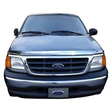 AVS 97-03 Ford F-150 High Profile Hood Shield - Chrome
