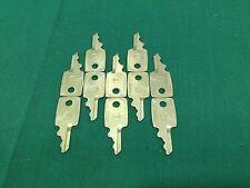 Samsonite by Taylor S51, 170S Luggage Pre-Cut Keys, Set of 10 - Locksmith