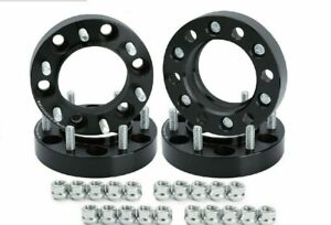 "(4) 1.5"" Hubcentric Wheel Spacers 5x5.5 Adapters 9/16 Studs For Dodge Ram 1500"