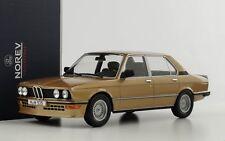 1980 BMW 535i M535i E12 gold metallic 1:18 Norev 183268
