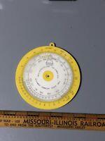 Davis T-S-D Computer Time Speed Distance Computer Wheel Navigation Vintage