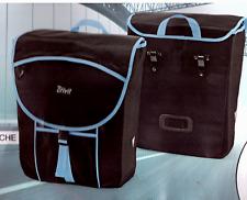 Fahrrad Gepäcktaschen Set Fahrradgepäcktasche Kuriertasche 2 St. m. Regenschutz