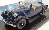 Solido 8178 1/18 Scale - 1938 Citroen Traction AV 11 Cabriolet - Dark Blue