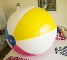 Riesen Aufblasbare wasserball 110cm+ infl. **2 rapid valves** beach ball