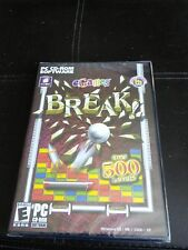 eGames Break PC CD-ROM software
