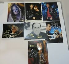 Autograph Photograph Lot - Various Sci-Fi, Tv and Movie Stars