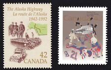 1992-93 Canada SC# 1413, 1460 - Alaska Highway-Stanley Cup Lot# 241 M-NH