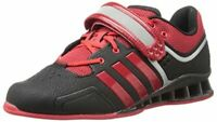 Adidas Men's Shoes Adipower Weightlift Leather Low Top , Black, Size 15.0