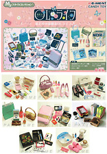 Re-ment #OL Miniature Stationary, Bags, Shoes, Accessories, Suitcase 8 set