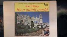 Disneyland Records Disney's IT'S A SMALL WORLD Book & Record LP 1964