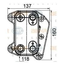 RADIATORE OLIO MERCEDES BENZ MB CLASSE E (W211) BHER