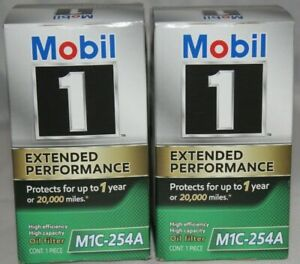 2 pack Mobil 1 Genuine M1C-254A Extended Performance High Efficiency oil filter