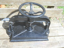 Antique Cast Iron Industrial Book Press