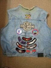 Harley Davidson Denim Vest XXXL - Susquehanna Valley