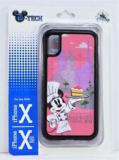 Disney 2019 Epcot Food Wine Festival Chef Minnie Black Apple Iphone 10 X/XS Case