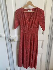 ba&sh superbe robe taille 0 / 34-36 rouge