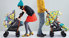 New Cosatto To and fro reversible pushchair Firebird with footmuff & raincover