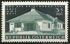 Austria 1961 MNH - Architecture Stamp Day Post Office Rust - SG 1378